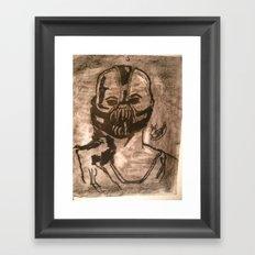 RUTHLESS Framed Art Print