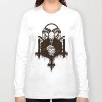 satan Long Sleeve T-shirts featuring Satan by Lunaramour