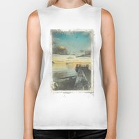 alice wonderland Biker Tanks featuring Dating Alice in wonderland by HappyMelvin