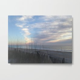 Chilling clouds Metal Print