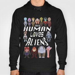 Aliens LOVE Hoody