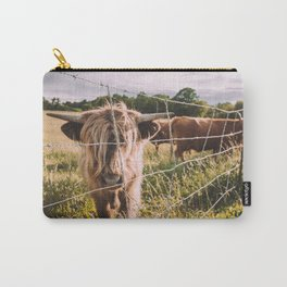 Highland Cows in the Sun Carry-All Pouch