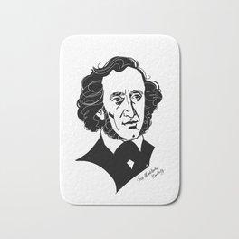 Felix Mendelssohn Bath Mat