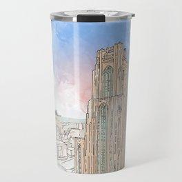 Cathedral of Learning Travel Mug