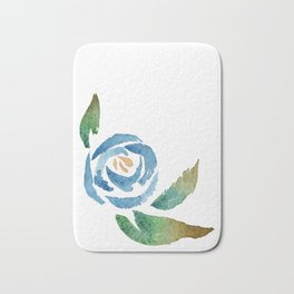 Blue Rose Badematte