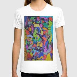 The flower keeper T-shirt