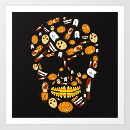Some Treats Are Trickier Than Others Art Print