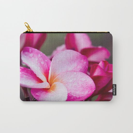 Pua Melia Floral Celebration Carry-All Pouch
