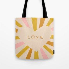Gentle loving heart Tote Bag