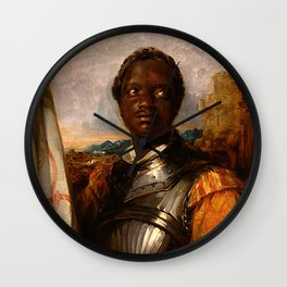 Ira Frederick Alridge as Othello - Wiliam Mulready Wall Clock
