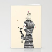 musa Stationery Cards featuring Musa by Charlotte_khm