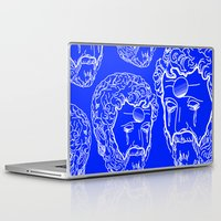 greek Laptop & iPad Skins featuring Greek Cry by Bombarda