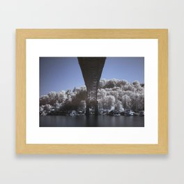 Fremont Infrared Framed Art Print