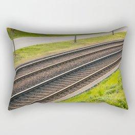 Tramway rail Rectangular Pillow