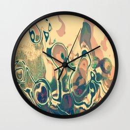 Damage Wall Clock