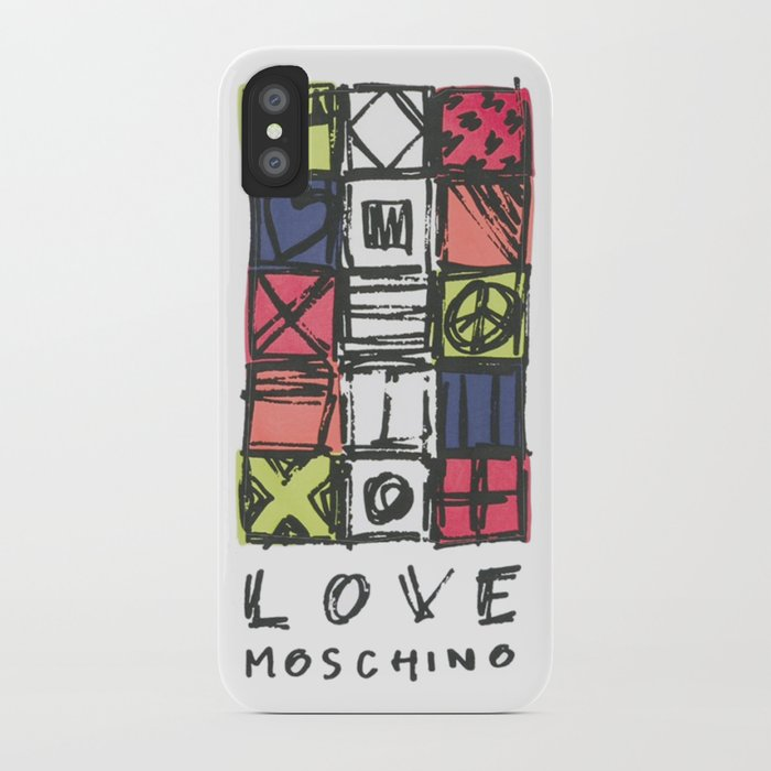 the latest 0edb7 c9a52 Love moschin moschino new fashion art cute style trend kenzo 2018 2019  color mixed shirt cover iPhone Case by abllo