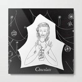 Chocolat Metal Print