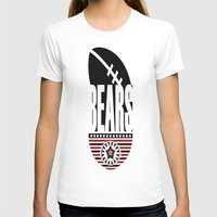 bears T-shirts featuring BEARS  by Robleedesigns