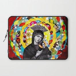 Nossa Senhora do Perpétuo Socorro (Our Lady of Perpetual Help) Laptop Sleeve