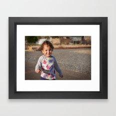 Baby Lilo Framed Art Print
