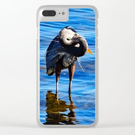 Twisted Fowl Clear iPhone Case