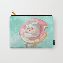 Donut Pool Float Carry-All Pouch