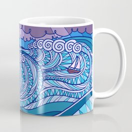 Stormy Sea Coffee Mug