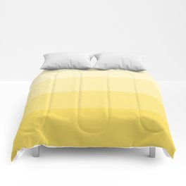 Four Shades of Yellow Comforters
