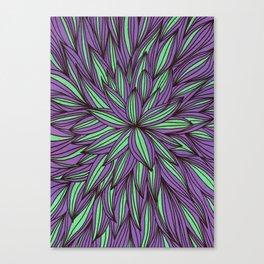 Fabulous flowers Canvas Print