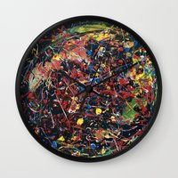 spawn Wall Clocks featuring Minion Spawn by Christina Stavers