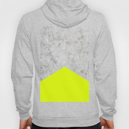Concrete Arrow - Neon Yellow #521 Hoody