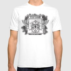 Temple of Hoon Se Kwon Mens Fitted Tee SMALL White