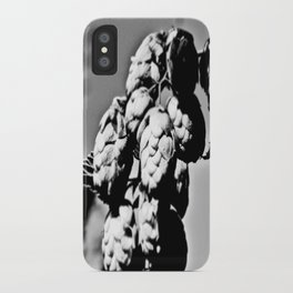 Hops B&W iPhone Case