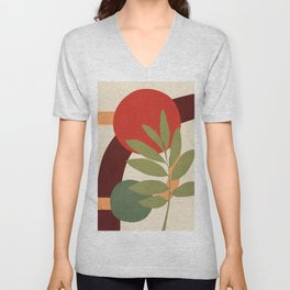 Abstract Flow 23 Unisex V-Neck