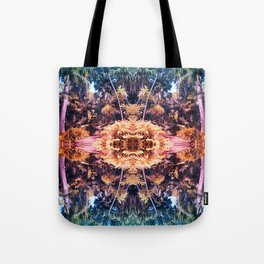Acid Tropic Kaleidoscope Tote Bag