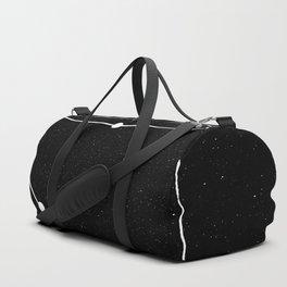 LIBRA (BLACK & WHITE) Duffle Bag
