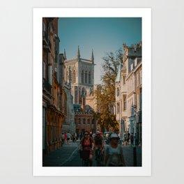 Cambridge, England, United Kingdom 3 Art Print