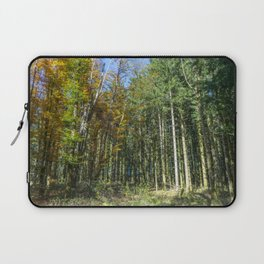 Colorful French forest Laptop Sleeve