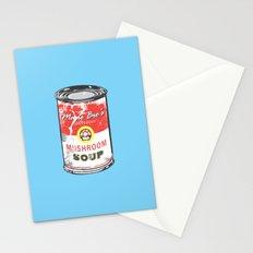Mario Bro's Mushroom soup Stationery Cards