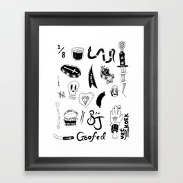 Flash - One Framed Art Print