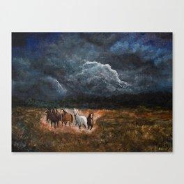 Lusitanian Wild Spirits Canvas Print