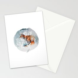 The Too Clever Fox  Stationery Cards
