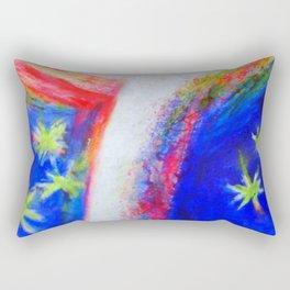 From the sky Rectangular Pillow