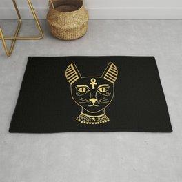 Cat goddess - Bastet Rug