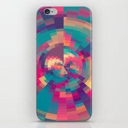 Spiral Of Colors III iPhone Skin