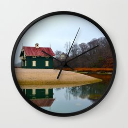 Gamecock Cottage Wall Clock