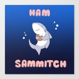 Ham Sammich Canvas Print