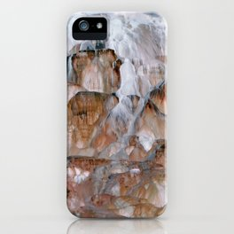 Mammoth Hot Springs Yellowstone iPhone Case