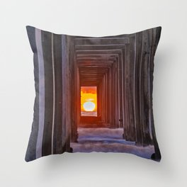 Twice a Year Throw Pillow