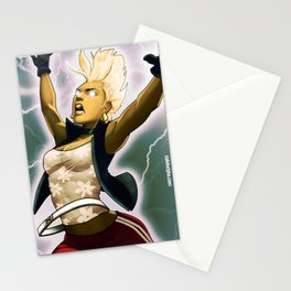Weather Woman Stationery Cards